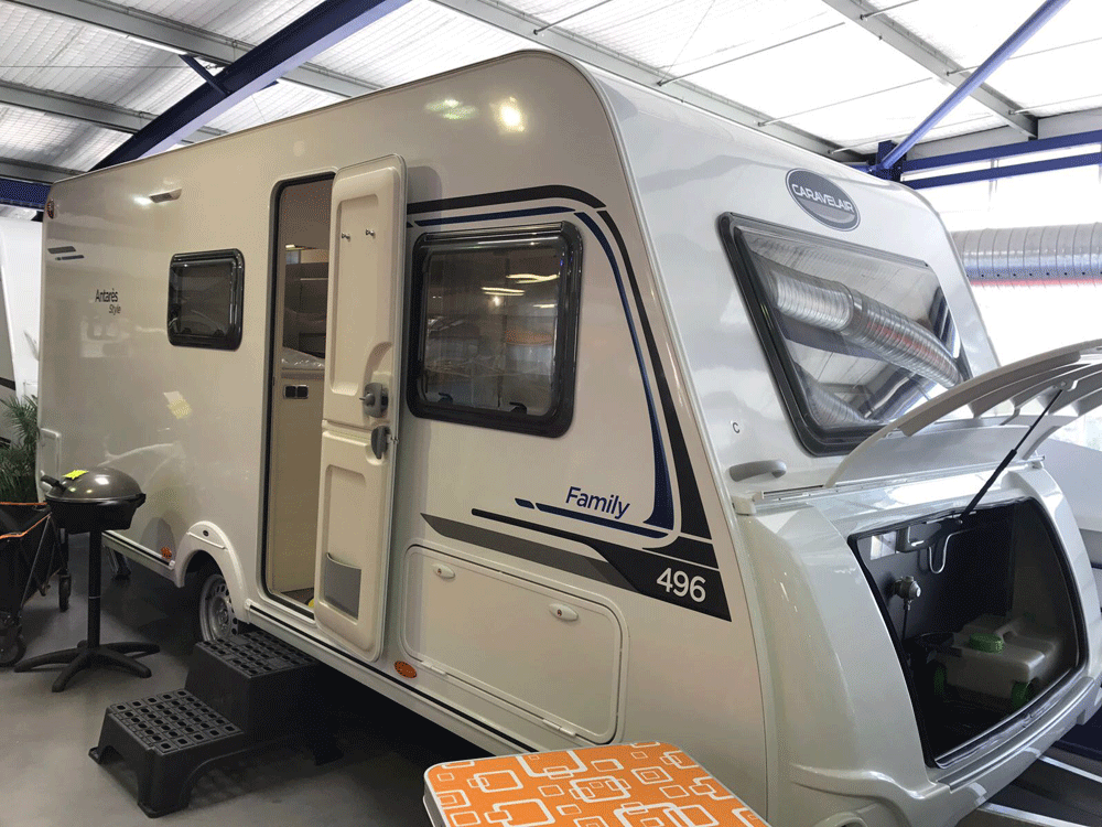 CARAVELAIR ANTARES STYLE 496 Family