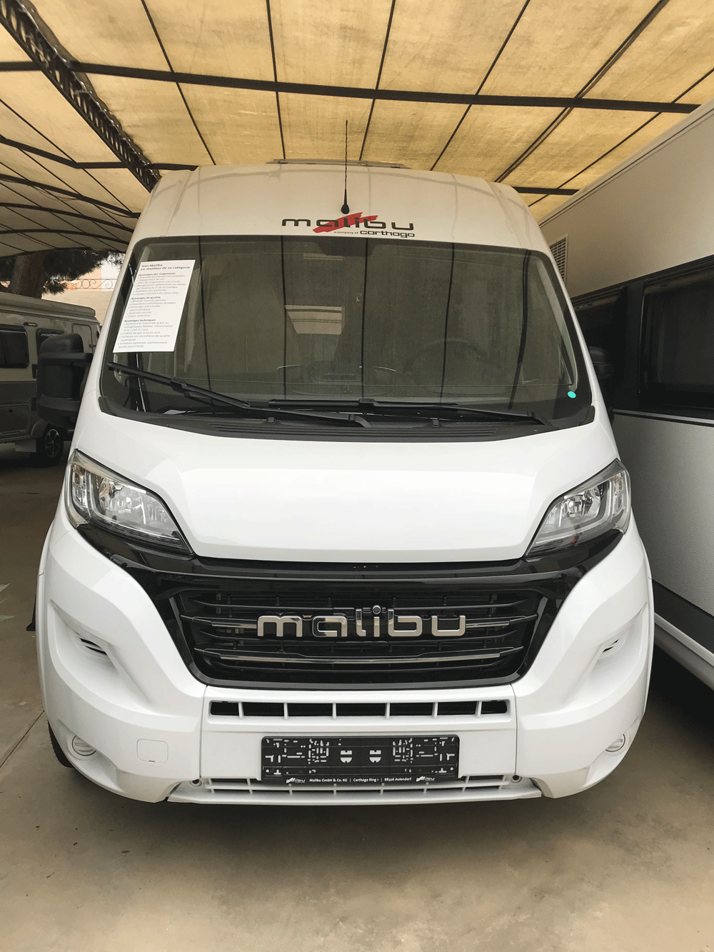 malibu 600 DB low bed caravar (9)