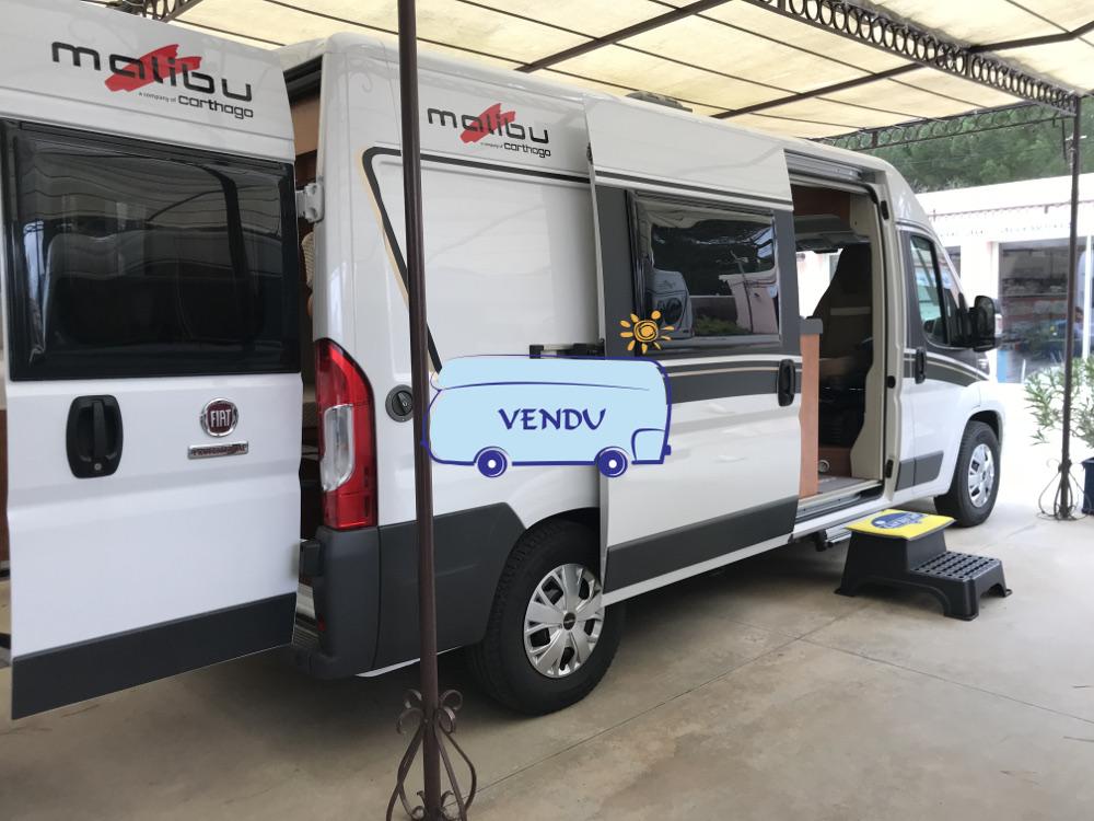 Van/Fourgon Malibu 600 DB low bed