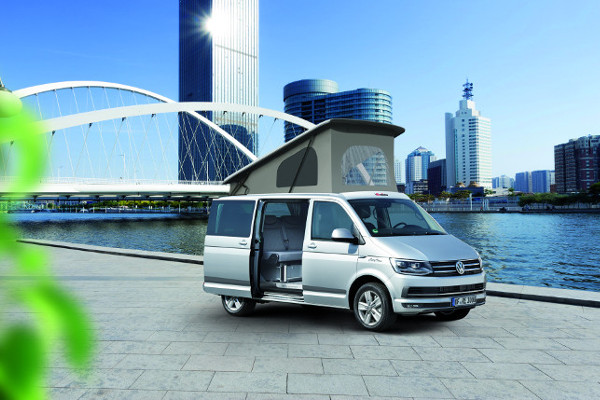 ECO CAMPERS CITYVAN BLANC CANDY